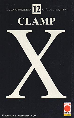 manga X CLAMP Nr. 12 Ed. Panini Planet