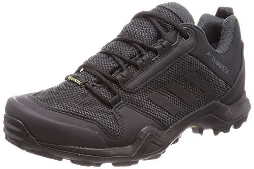 adidas Terrex AX3 GTX, Walking Shoe Hombre, Core Black/Core Black/Carbon, 42 EU