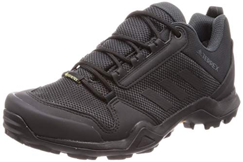 adidas Terrex AX3 GTX, Zapatillas de Marcha Nórdica Hombre, Negro (Core Black/Core Black/Carbon Core Black/Core Black/Carbon), 42 2/3 EU