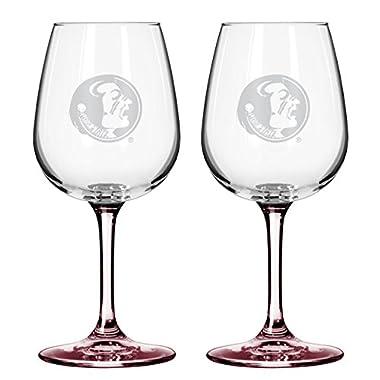 NCAA Florida State Seminoles Boelter Wine Glass (2-Pack)