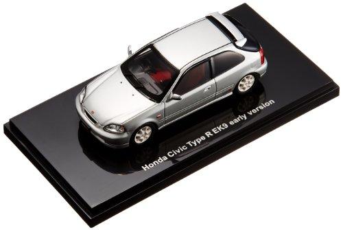 EBBRO 1/43 Honda Civic Type R EK9 early versionSILVER (japan import)