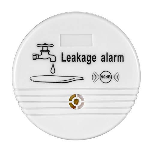 QHAI Alarma Detector de Fugas, Fugas de Agua de Alarma sin Hilos del Sensor del Detector de Fugas de Agua Cámara de Seguridad Sistema de Seguridad casero