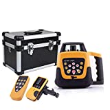 R MuGuang 500m Automatic Range Rotary Measuring Leveling Adjustable Rotary Laser Level Machine Red Beam