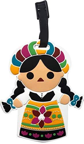 By Mexico Identificador de Maletas Modelo Muñeca María
