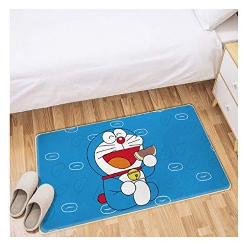 Maize store Alfombras Dormitorio De Los Niños Sala De Estar Estera del Piso Rectángulo Dibujos Animados Doraemon Juego De Niños Baño Cocina Bebé Gatear Guardería Decoración del Hogar Grande