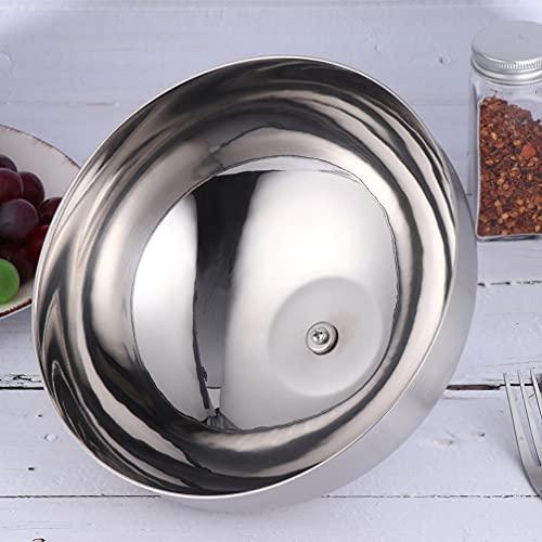 HEMOTON Cubierta de Cúpula Cubierta de Acero Inoxidable de Comida Cubierta de Comida Cubierta de Vapor de Queso Funda de de Cúpula Fundida para Cocina Parrilla Wok Interior Aire