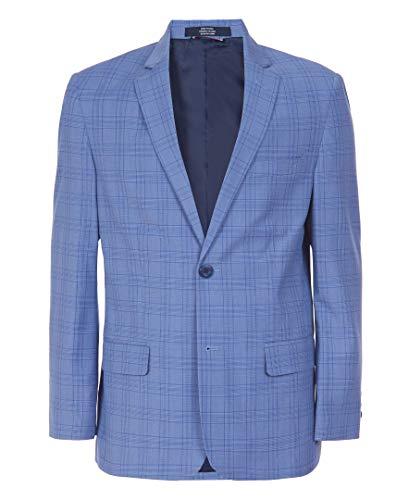 Tommy Hilfiger Boys' Big Blazer Suit Jacket, Duskie Blue, 14