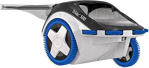 Hayward W3TVP500C TriVac 500 Side Swimming Pool New 3-Wheel, Automatic Pressure Cleaner Technology, Blue