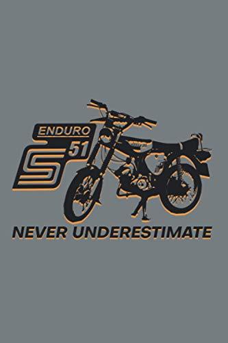 Mopeds Niemals Unterschätzen Simson S51 Enduro: Simson S51 Enduro