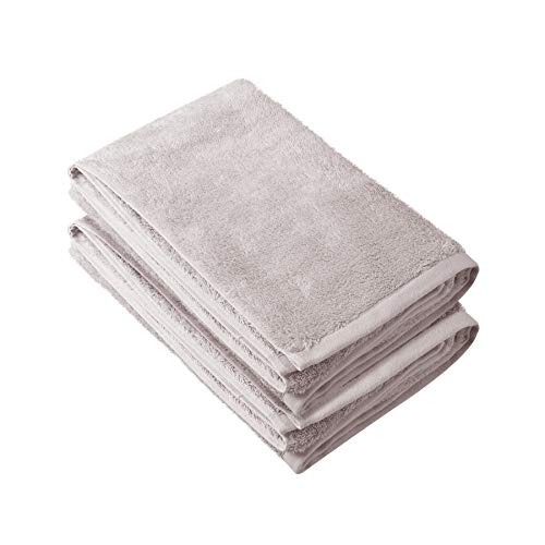 Chakra Turkish Organic Bath Towels Set of 2 (Bamboo Cotton, Extra Large) Luxury Bath Sheets | Quick Dry Towel Sets for College, Bathroom, Kitchen, Spa, Hotel, Wedding & More | Sustainable Bamboo