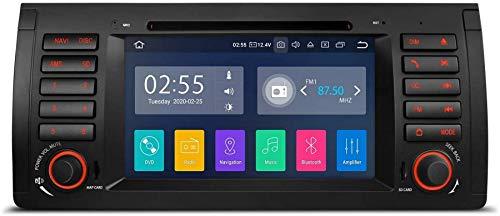 FACAIA Bluetooth 5.0 Android 10.0 Radio estéreo para automóvil Unidad Principal de 8 Pulgadas Navegación GPS Soporte Plug and Play CarAutoPaly WiFi DVR Dab + OBDpara Mercedes-Benz C/CLK W203 W209