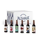 Pack Premiadas Selección - Caja 24 unidades - Cervezas Althaia - Cerveza artesana - Premiadas Internacionalmente. Regalos especiales. Botella 33cl. Craft Beer