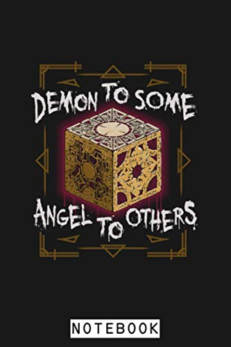 Demon To Some Hellraiser Puzzle Box Horror Notebook: 6x9 120 Pages, Planner, Diary, Journal, Lined College Ruled Paper, Matte Finish Cover