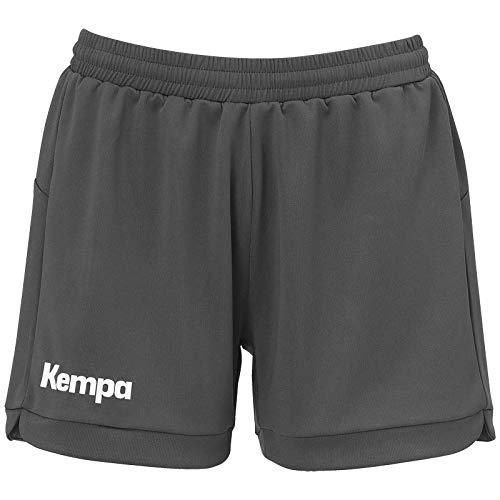 Kempa Prime Women Shorts De Balonmano para Mujer, Antracita, M