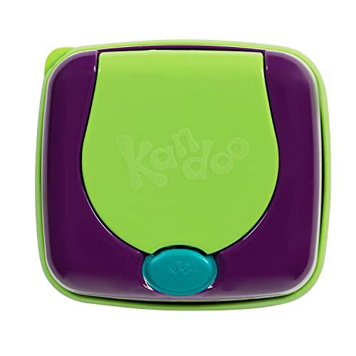 KANDOO boîte Rechargeable Distributrice de 55 Lingettes Melon Nouvelle Formule
