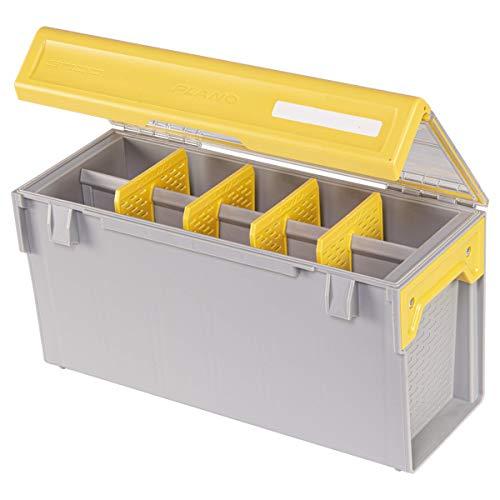 Plano - Angelzubehör-Ablagefächer in Clear / Yellow, Größe One-Size