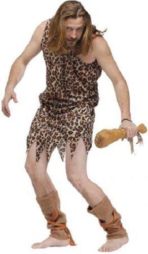 Fancy Me Hommes Homme des cavernes Historique préhistorique Brame Costume déguisement