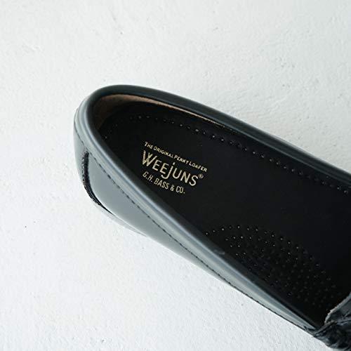 [ジーエイチバス]ウィージャンズペニーローファーWEEJUNSPENNYLOFFER22.5cm-24.5cmBA410105.5(23.0cm)/blackleather
