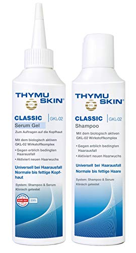 Thymuskin Classic Set, 1er Pack (1 X 200 Ml Shampoo & 1 X 200ml Serum)