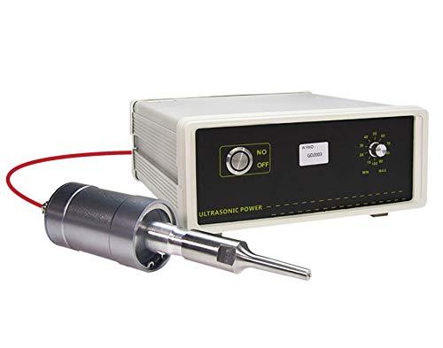 BAOSHISHAN Máquina de soldadura por puntos de soldador de plástico ultrasónico 500W para correa de recolección de huevos de plástico/correa de estiércol 220V
