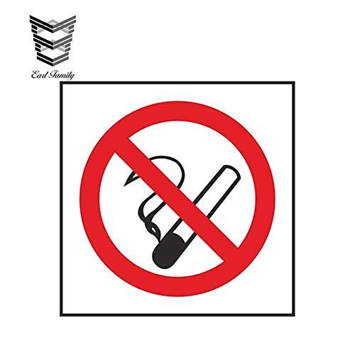 N/X YDBDB 13cm x 13cm Auto Styling Niet Roken gevaar Voorzichtigheid Auto Sticker voor Winkel Locker Box Tablet Waterdichte Accessoires