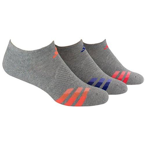 adidas acolchado sin calcetines de hípica para mujer Paquete de 3