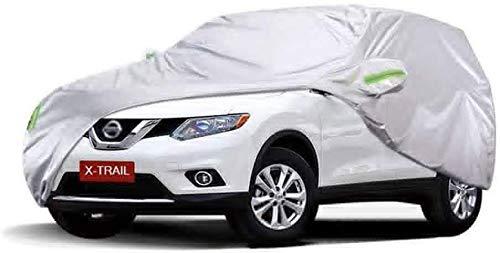 GDFEH Auto-Abdeckplane, Allwetterschutz, Autoabdeckung, wasserdicht, Allwetter-Vollgarage für Nissan X-TRAIL SUV (Größe: 2017)