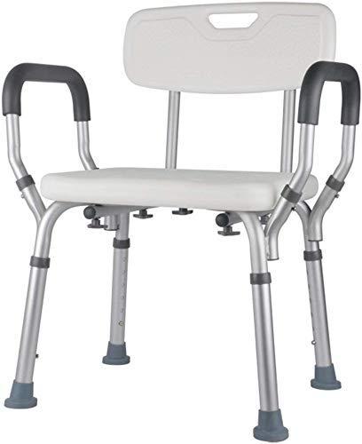 ZXY-NAN Bathroom Wheelchairs Bath Chairs for The Elderly, Shower Chairs, Shower Chairs for The Disabled, Pregnant Women Shower Chairs,Aluminum Non-Slip Bathroom Bath Stool