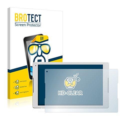 BROTECT Schutzfolie kompatibel mit Alcatel Plus 10 (2 Stück) klare Bildschirmschutz-Folie