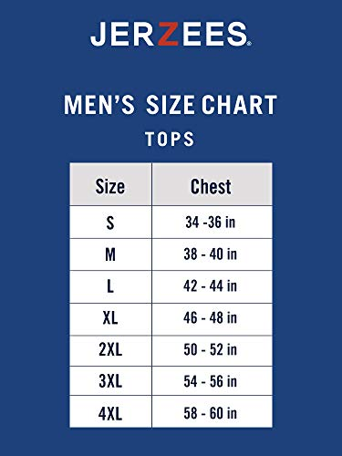 Jerzees Men's Spot Shield Short Sleeve Polo Sport Shirt, Black, Large