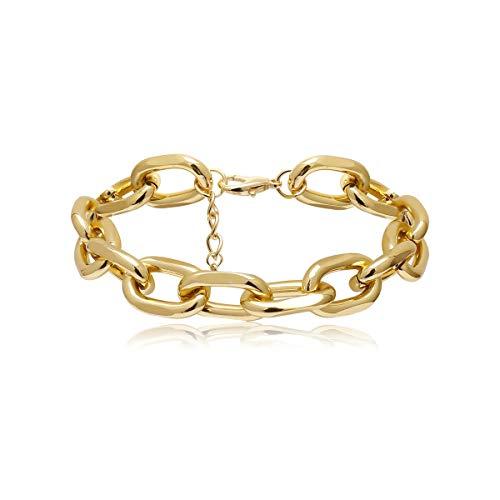 CHIY-GBC Retro Cross Metal Oro Color Cadena Tobillera para Mujeres Hombres Tobillo Pulsera Moda Playa Accesorios de pie joyería