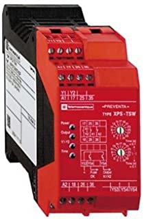 SCHNEIDER ELECTRIC XPSTSW3742P Safety Relay 300-Volt 2.5-Amp Preventa