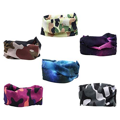 mizomor 6pcs seamless tube headwear
