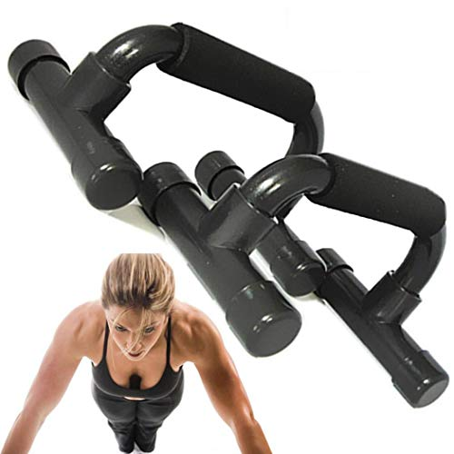 Hopekings Maniglie per Flessioni Push Up Bars Stand - Maniglia di Schiuma - per Allenamento Muscolare Integrale, Supporto Pompa per Allenamento Bodybuilding Esercizio Fisico Attrezzature Bodybuilding