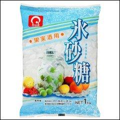氷砂糖クリスタル 1kg /パールエース(6袋)
