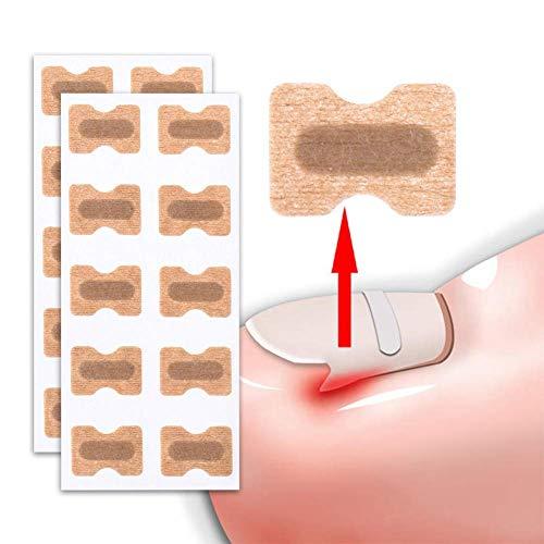 Yiyu 50 Pcs Non-Glue Zehennagel Patch Eingewachsene Zehennagel Korrektur Aufkleber Für Paronychie Behandlung Fußpflege Pediküre Tool x (Color : Beige)