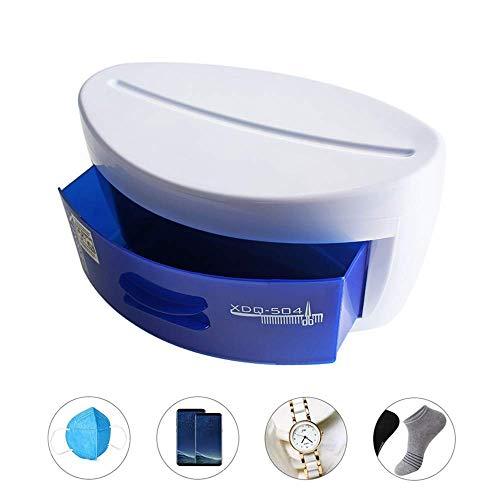 Jnzr UV-desinfectiebox voor mobiele telefoons, fopspeens, tandenborstels, make-upkwasten, servies, ondergoed, sieraden, brillen, maskers