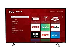top rated TCL 43S305 43 inch 1080p Roku smart LED TV (2017 model) 2021