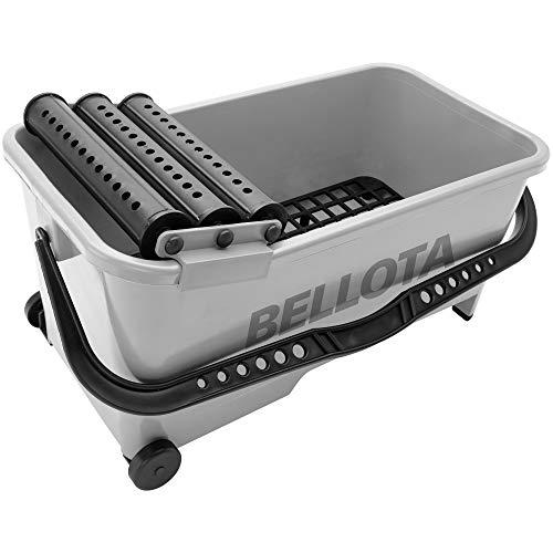 Bellota 5800-3 - Cubo de plástico para alicatador con escurridor de 20 litros