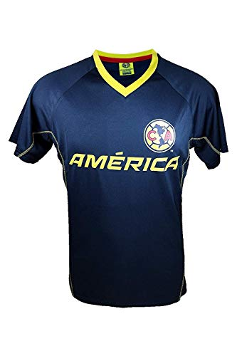 Club America Rhinox Official Adult Men Soccer Poly Jersey -J014 X-Large