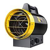 SHENXINCI Calefactor Cerámico Profesional,Calor 3000W Calentamiento Rápido De Alta Potencia,Volumen De Aire: 474m³/h,Nivel De Protección: IPX4