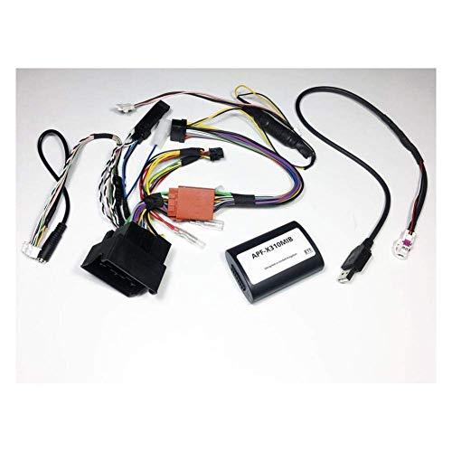 Alpine APF-X310MIB CAN-Bus-Lenkrad/Display/Parksens./Navi/Klima-Interface kompatibel mit VW Golf VII