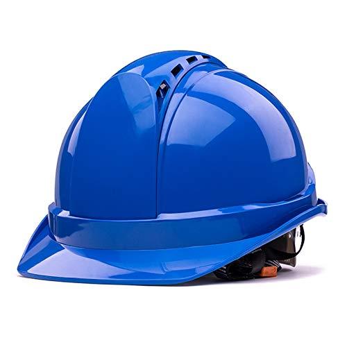 Casco de construcción Casco de seguridad - Casco de trabajo transpirable para decoradores al aire libre y interior, Casco anti-colisión resistente al impacto ABS, Sitio de construcción Ingeniería de i