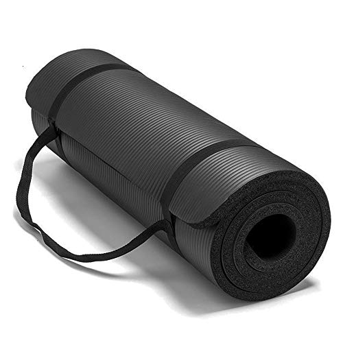 CXZC Colchoneta de Yoga, colchoneta Antideslizante, colchoneta de Entrenamiento Extra Gruesa para Yoga, colchoneta de Pilates de Alta Densidad con Correa de Transporte, 183 x 61 x 2 cm