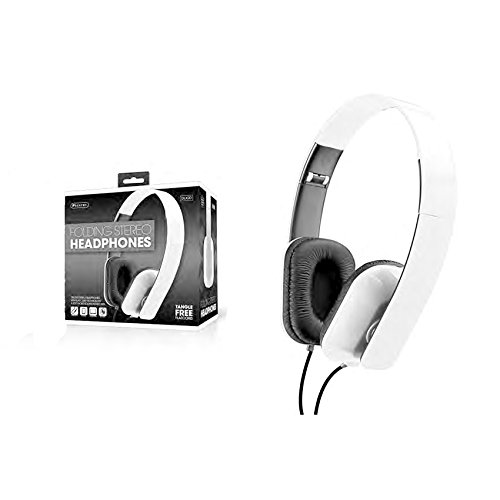 Sentry Folding Headphones, White (DLX26)