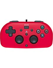 Hori 229732 Mini Gamepad Kids Controller, Official Licensed, Rood (Ps4)