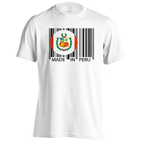 INNOGLEN Hecho en el Mundo del Viaje de perú Novedad Divertida Camiseta de los Hombres uu40m