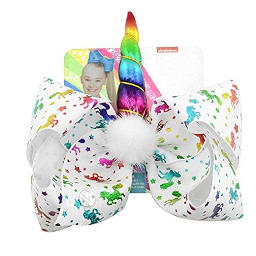 Ruluti Clips De Pelo 1pc Glitter Arcos De La Cinta del Pelo De La Horquilla De Muchachas con Clips Adorable Accesorios para Cabello para Los Niños Niños (d)
