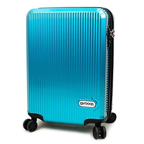 [OUTDOOR PRODUCTS(アウトドアプロダクツ)] スーツケース 40〜45L 49.5cm 3.2kg 機内持ち込み OD-0808-50 ブルー(ターコイズ)