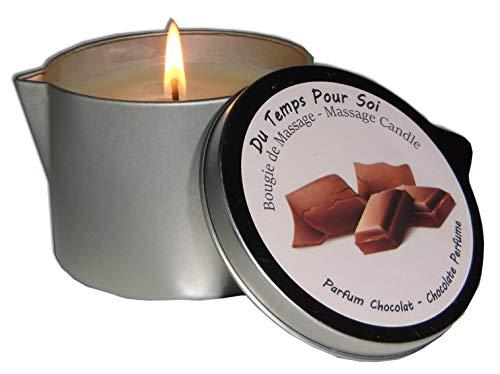 Storepil - Candela da massaggio al profumo di cioccolata, 150 g